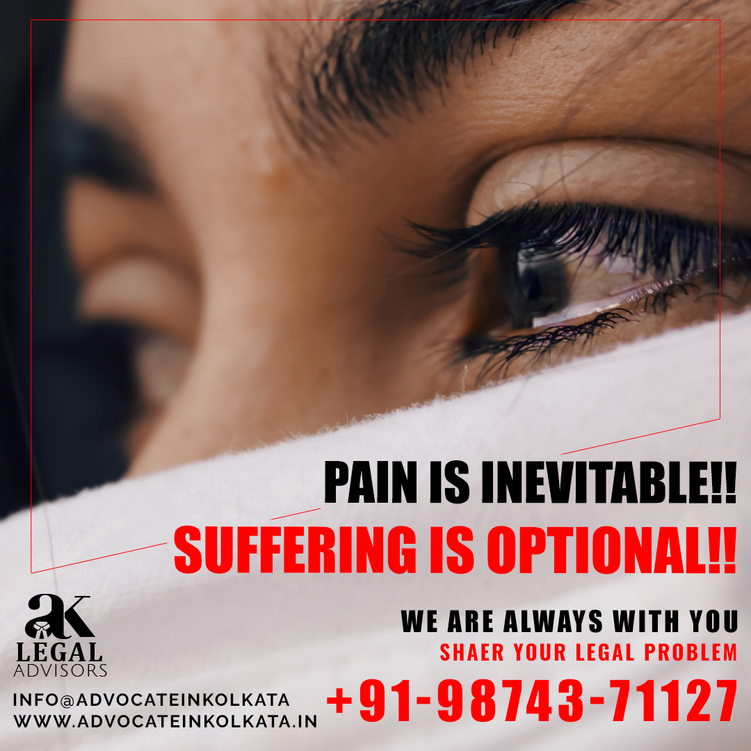 Pain is inevitable!! Suffering is optional!! Share your Legal problem with us…